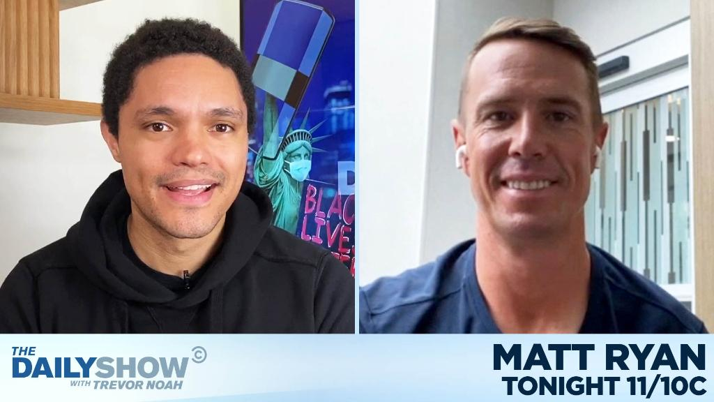 TONIGHT: Atlanta Falcons QB @M_Ryan02 is here to talk about racial injustice and the NFL.