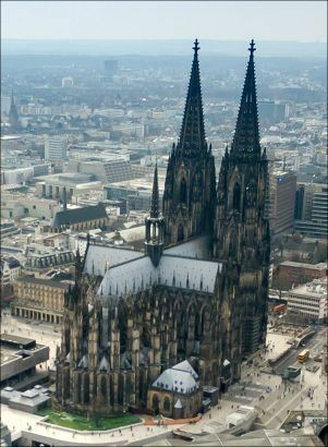 Cologne Cathedral in Germany. https://t.co/jnOoa8Uqif