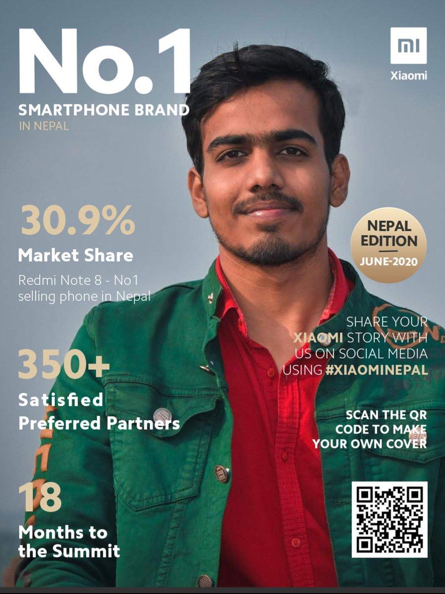 For all #MiFan Mi #MagazineChallenge   I accepted Mi Magazine challenge. #1SmartphonebrandNepal #ILoveXiaomi  @1sourabhkothari  @XiaomiNepalpic.twitter.com/PY0YuUs7yg