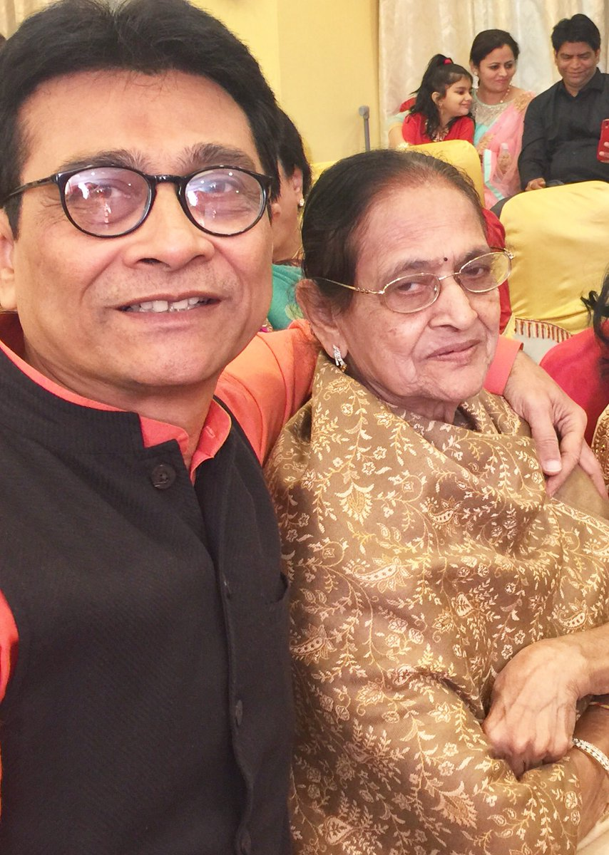 Much as we would hv liked, We couldn't hold on to her forever. Mom went in peace, calm, with all her dear ones around. Vil miss u Mom. Aum Shanti: 🙏 https://t.co/jwhfjkZ1Ad