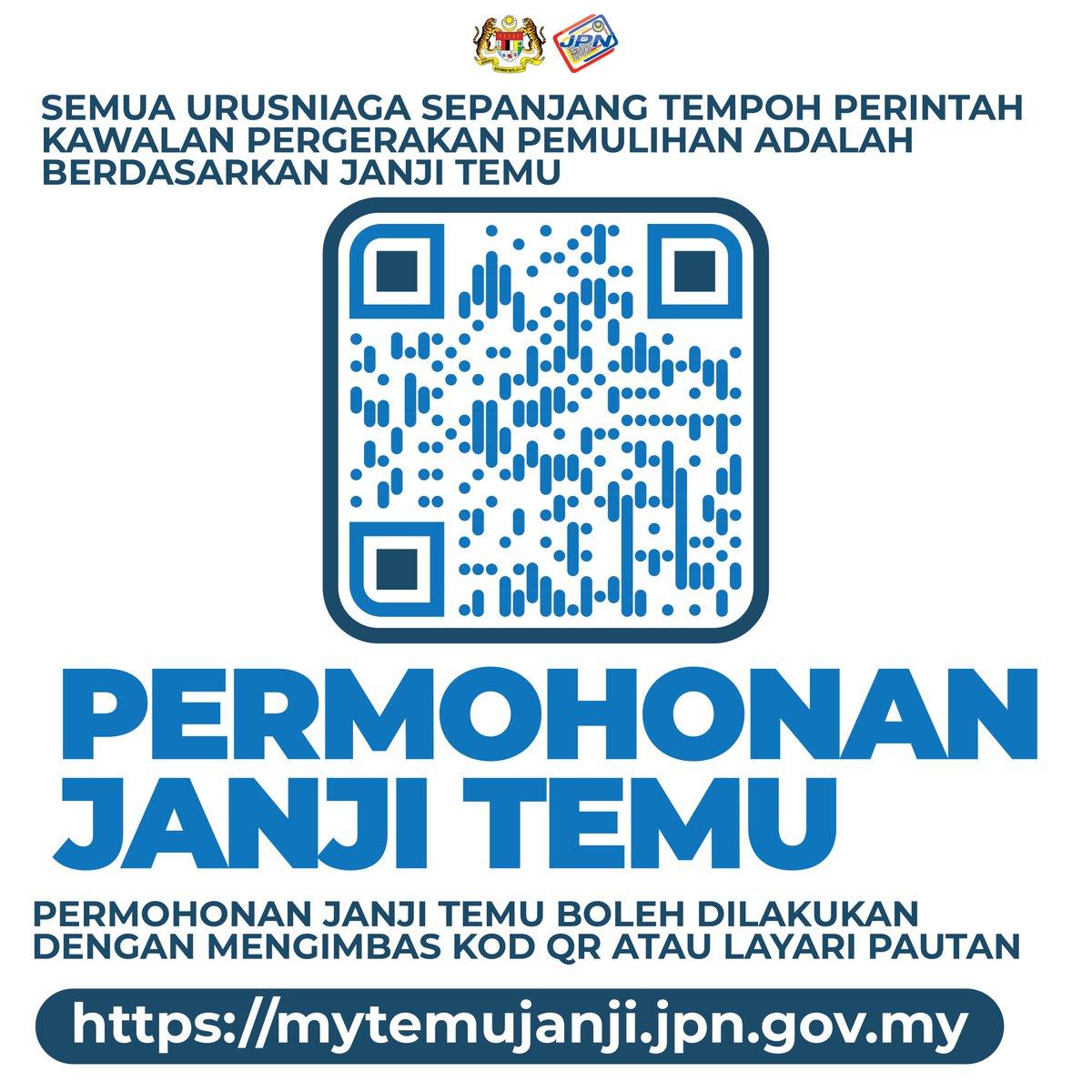 Jpn Malaysia Auf Twitter Permohonan Temujanji Boleh Dibuat Di Https T Co Ztkp48r6fj Bagi Urusan Di Semua Pejabat Jpn Seluruh Malaysia Termasuk Cawangan Utc Https T Co Qxk4xhljny