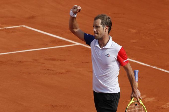 : A very happy birthday to French tennis star Richard Gasquet, who turns 34 today. Reuters