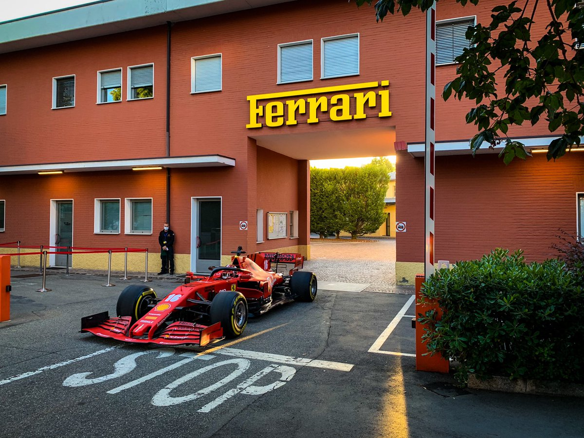 Good morning Maranello ! Sorry if I woke you up this morning, I was just going to work 😍