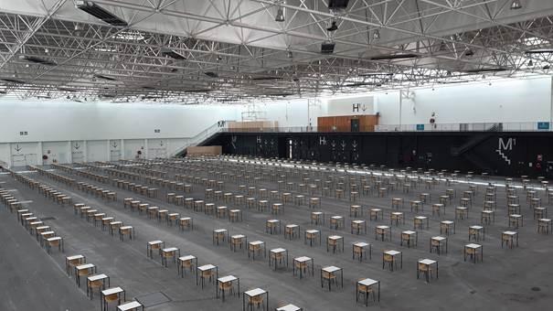 👨🏫👩🏫  Tout est prêt pour l'accueil des premiers concours au Parc des Expositions de Caen !  Un concours des professeurs des écoles se tiendra cette après-midi et demain matin au #ParcExpodeCaen.  #concours #ParcExpo #école #caen https://t.co/Bq8tdCZ6x6