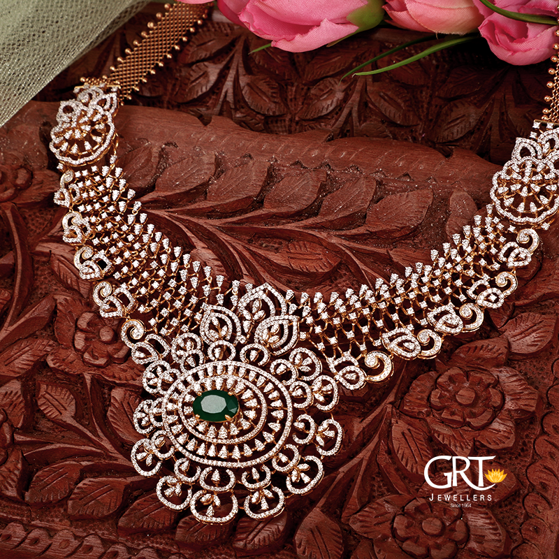 Grt Jewellers On Twitter Choose The Perfect Diamonds For You Necklace Approx Weight 85 61 Grams Approx Price Rs 11 44 600 Grtjewellers Diamondjewellery Https T Co Mpvfpl2cff