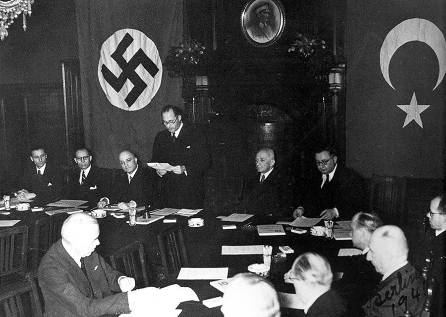 """WWII Pictures on Twitter: """"This day in 1941, Nazi Germany and Turkey signed  the German–Turkish Treaty of Friendship in Ankara. Turkey severed its  diplomatic and commercial relations with Germany, and on February"""