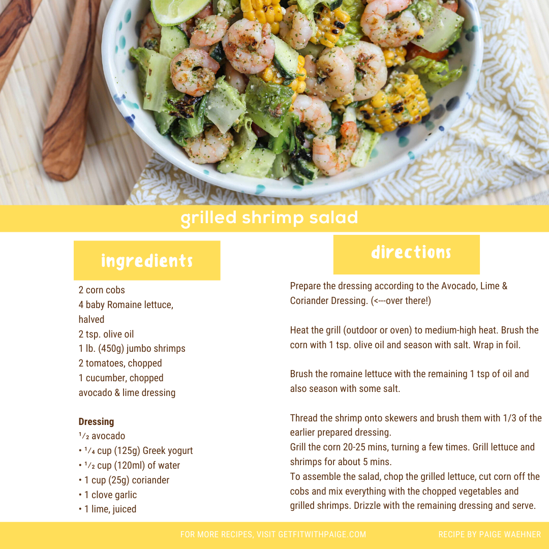 It's not officially summer but fore #recipethursday I've got a summer kind of recipe. First, it's so easy even I can't screw it up. Also? You get to use your grill. Pour some wine, grill some stuff and eat up. #grilledshrimpsalad https://t.co/vBAWSBQOzM