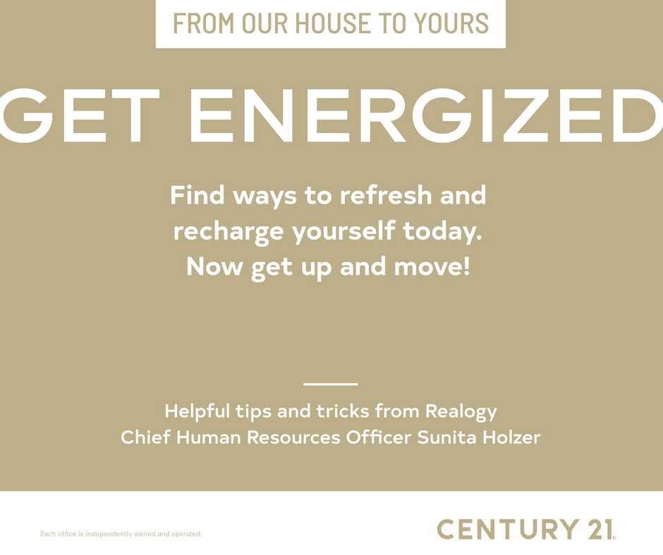 Get energized, refreshed and recharged! You have to keep on moving forward...#fromourhousetoyours #getenergized #helpfultipsandtricks #charlestonrealestate https://t.co/0qIrSOm0kj
