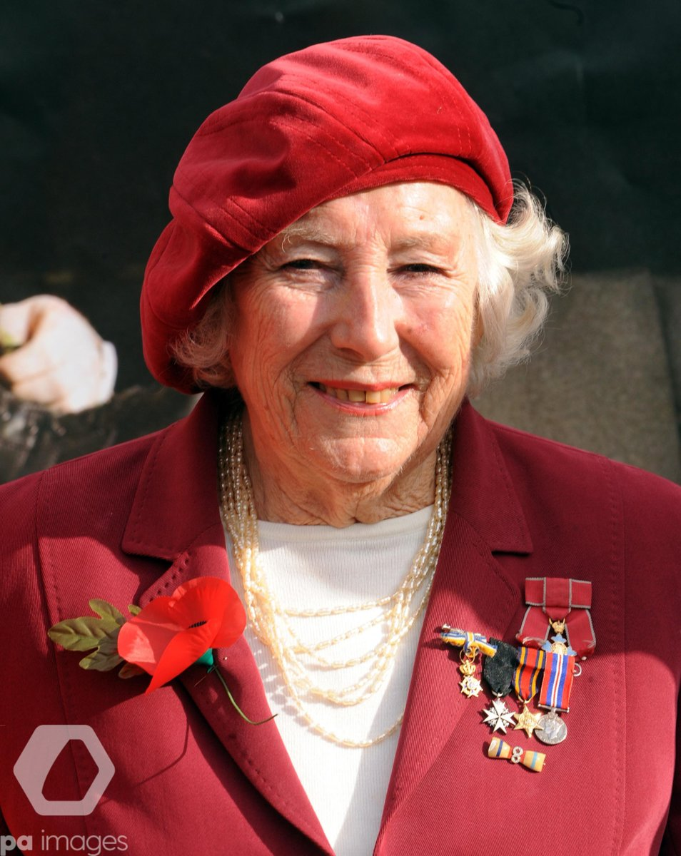 #Breaking Entertainer Dame Vera Lynn has died at the age of 103, her family have said