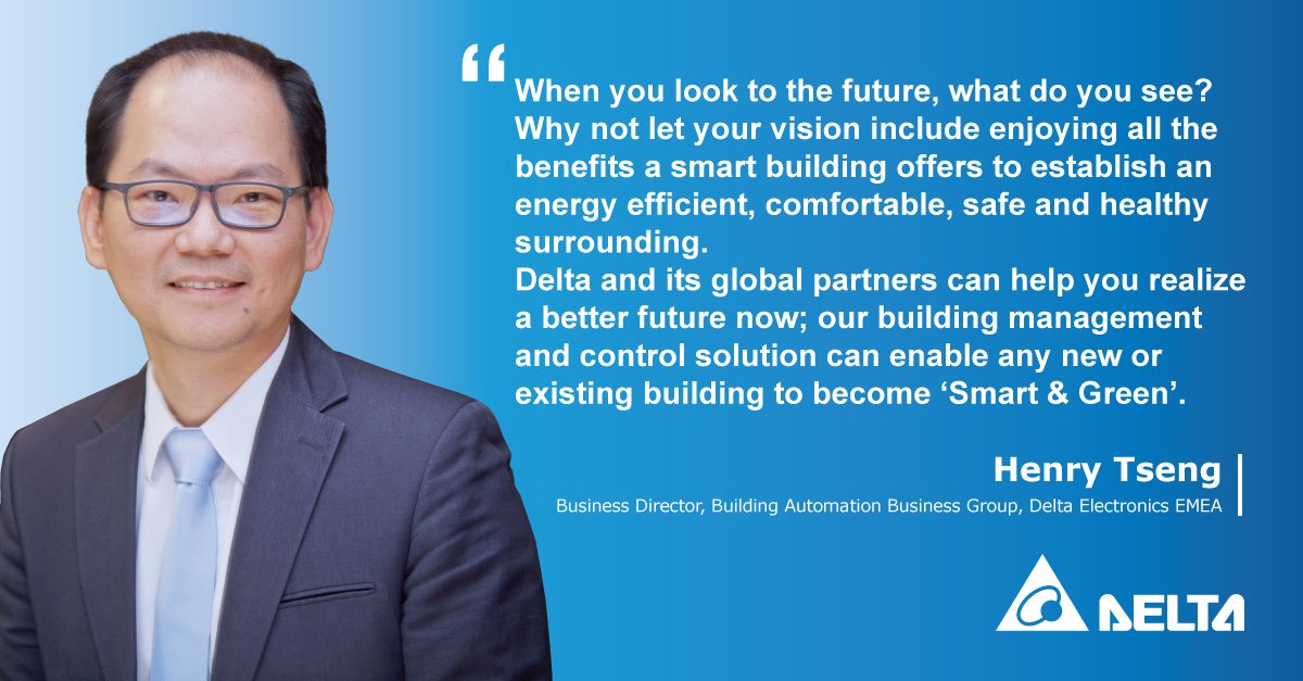 When you look to the #future, what do you see? Why not let #yourvision include enjoying all the #benefits a #smartbuilding offers to establish an #energyefficient, #comfortable, #safe and #healthy surrounding. delta-emea.com/Solutions/Cate… #smartbuildings #greenbuilding #future