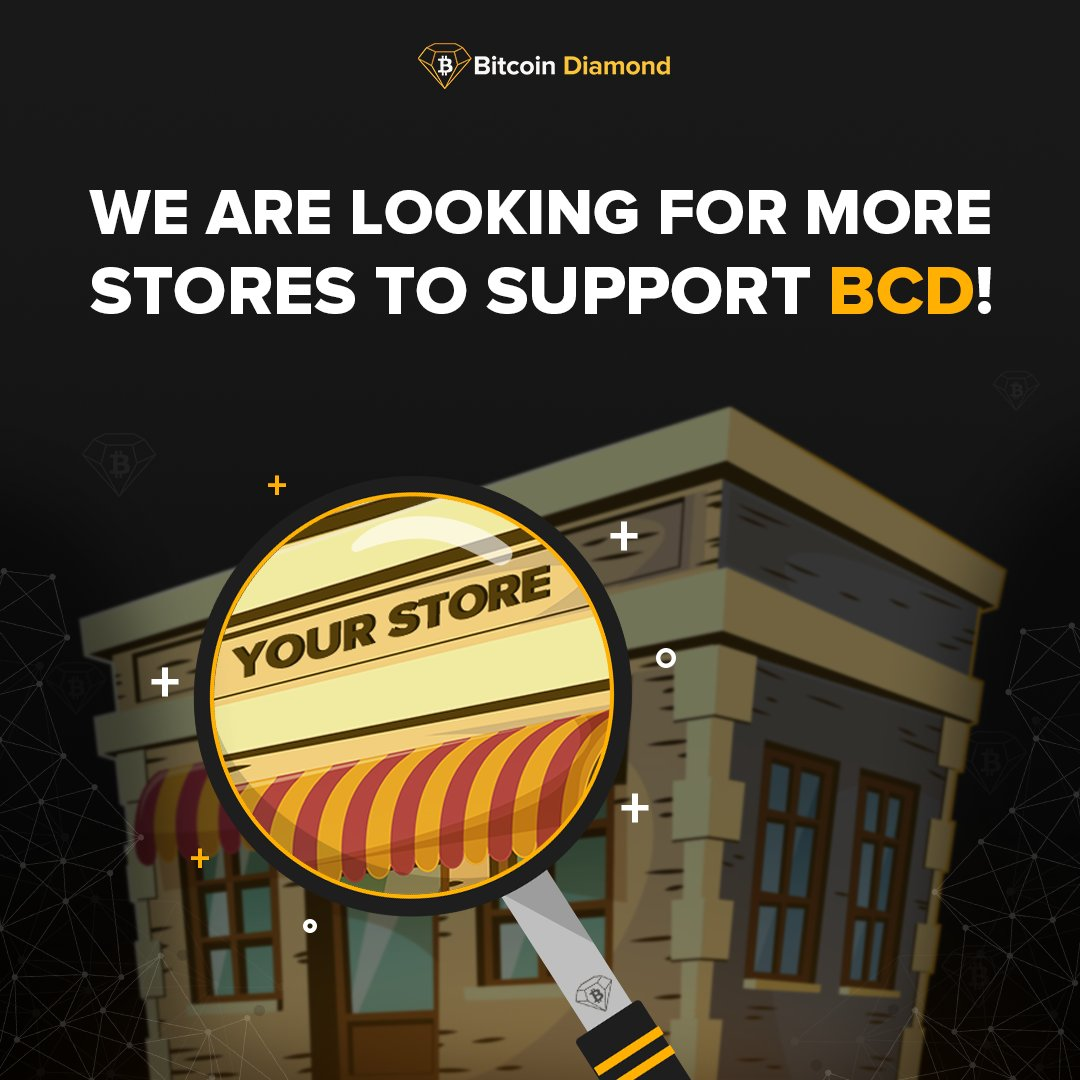 We are constantly looking for more stores and businesses to support BCD no matter how big or small, Our long term is full global adoption of Bitcoin Diamond, check out our partners that are currently helping us achieve these goals. bit.ly/2nTNckB@BCDKOR… @BCD_Community