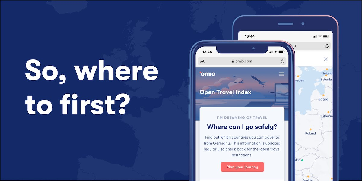 Our Open Travel Index is the only guide you need to navigate travel in 2020. Based on your location, the Open Travel Index shows you where you can visit, safety measures, as well as travel company refund policies and much more! Take a look, here: https://t.co/xTqJPvPOfK https://t.co/8QmZWSYnsv