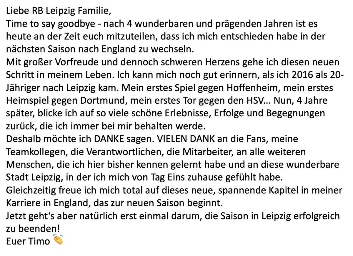 Liebe RB Leipzig Familie... 👇 @DieRotenBullen