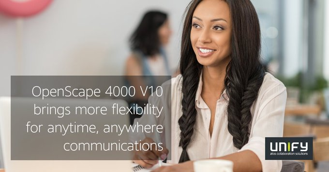 Together with a strong global presence and service availability, OpenScape 4000...