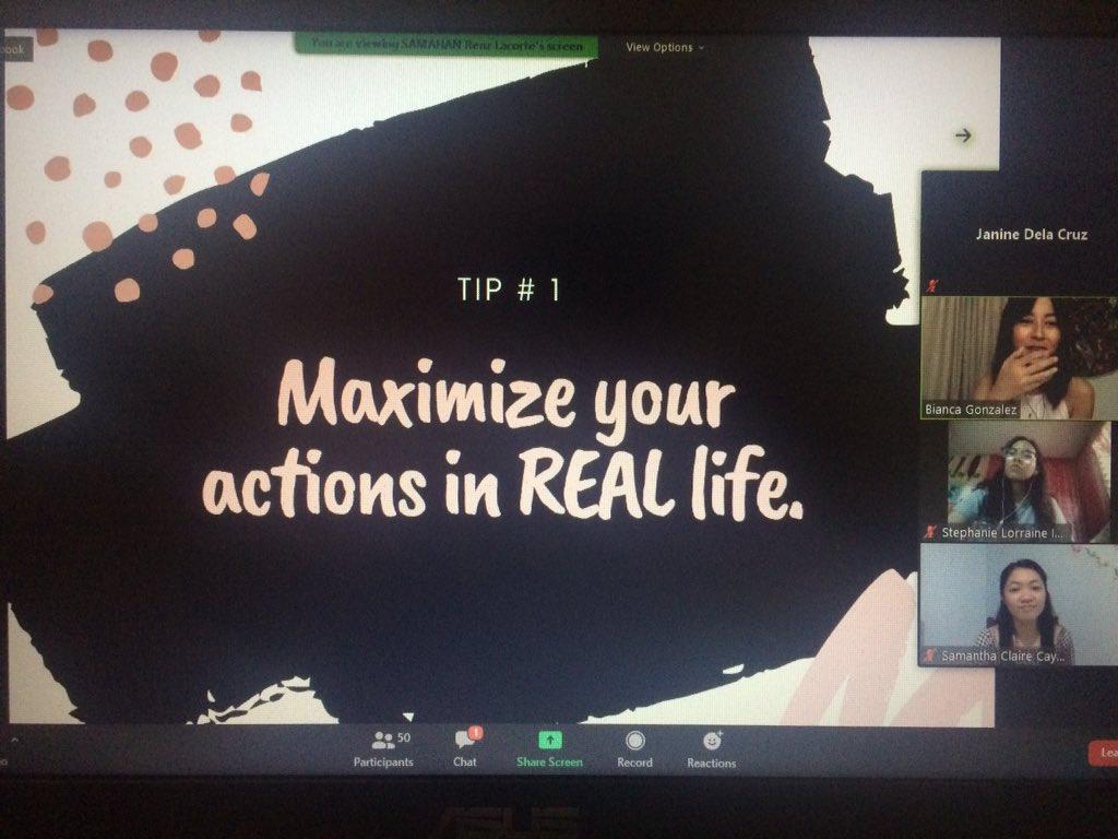 Gonzalez shares three tips on maximizing the voice in social media.