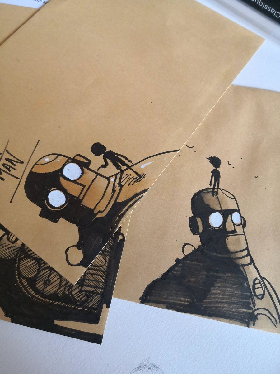 Illustrated envelope comp still ongoing. Head on over to my place. Ends tonight.