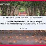 Image for the Tweet beginning: Verpackungsreduktion, vollständige #Recylingfähigkeit und mehr
