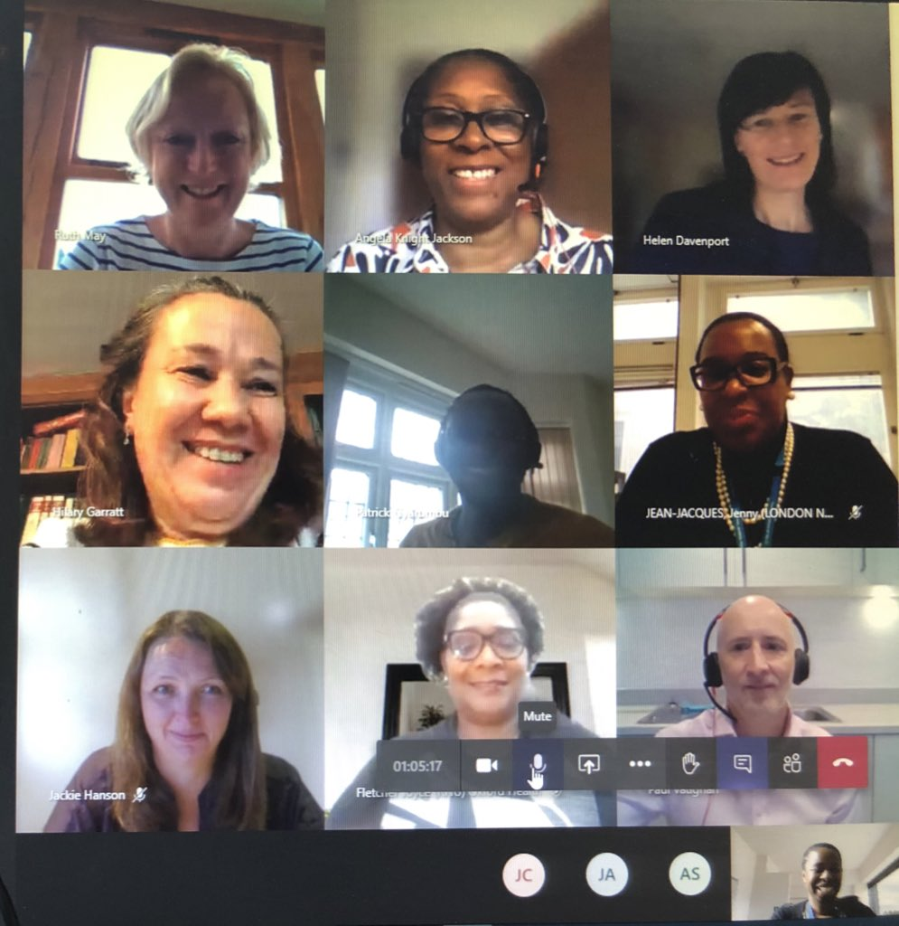 Just met with the @CNOEngland and regional chief nurses across the country to discuss #COVID19 BME nurse and midwives engagement sessions & subsequent actions to safeguard staff as well as BME Nurse leadership issues! The engagement report will be circulated this afternoon.