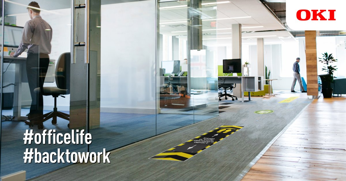 With employers needing to safeguard their staff once #officelife resumes, our blog discusses how to cultivate a safe workplace with #floorstickers and health & safety signage in the office. #Backtowork https://t.co/CyPRx2siaE https://t.co/eHKvmXLVLA