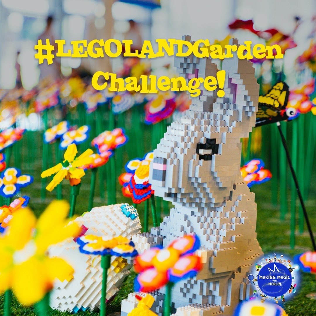 This week we have another exciting #LEGOLANDDubai building challenge for you!Test your creativity and build a garden out of LEGO Bricks, with flowers, trees and some animals in there too!Remember to use #LEGOLANDGarden so we can share your AWESOME builds! #MakingMagicwithMerlin https://t.co/Eig1m10Abc