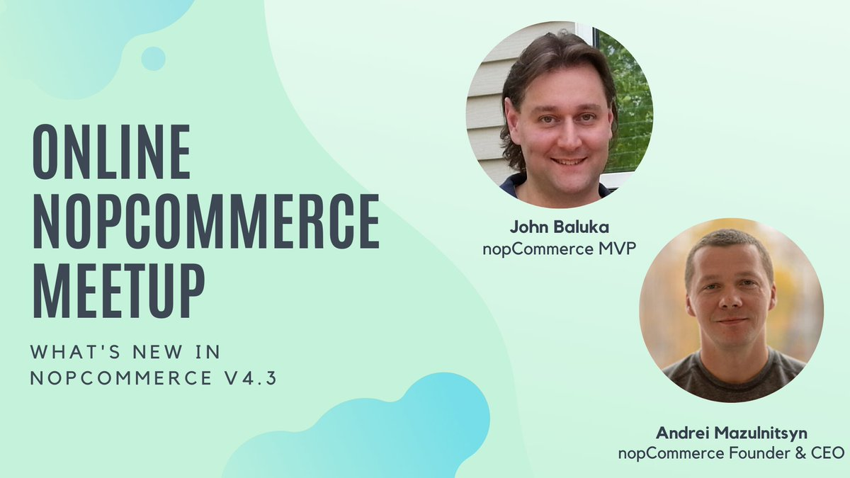Here is a video recording of Global online nopCommerce Meetup: https://t.co/KEAcIeDtQq  We thank @JohnBaluka for organizing and providing this meeting 👍 https://t.co/v0O2GUsFDp