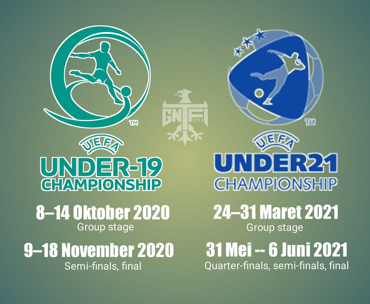 UEFA Mengkonfirmasi EURO U19 & U21 Akan Selesai Dalam Dua Tahap #U19EURO #U21EURO #GNTFI https://t.co/3b8PpaHylj