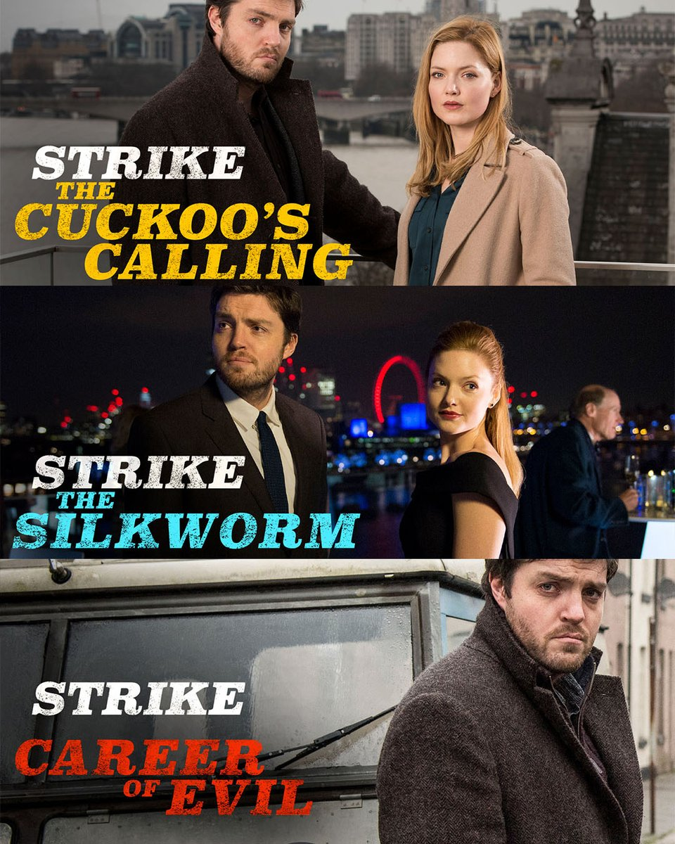 Cormoran Strike is not your average private investigator.   All episodes of Strike are streaming now on BBC iPlayer. https://t.co/ILT4x4U7z0 https://t.co/9WzVelDeHc