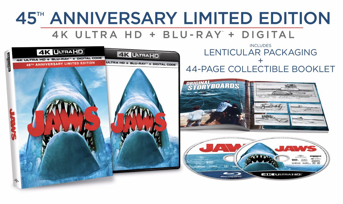 Lot of crazy stuff going on in the world so how about you write us a 5 star review and get a chance to win a free 45th anniversary limited edition blue ray copy of Jaws!?   Check out our recent Jaws episode to see how you can win! https://t.co/d1J59u6Xo4