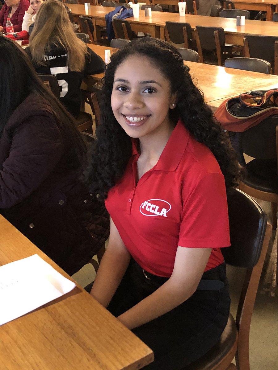 Congratulations to Diana Aguilar, Flowery Branch High School FCCLA Region Officer!