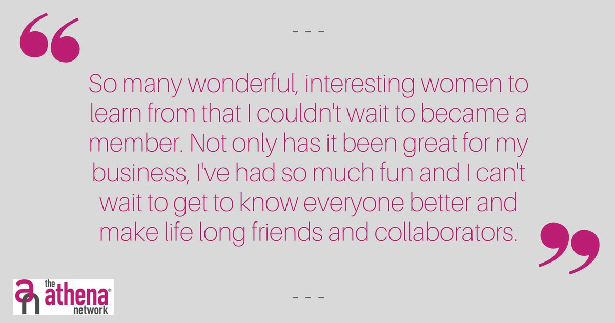 This is another great bit of feedback.  If you would like to share your experience of our group, please feel free to leave us a review.  #whattheysayaboutus #Reviews #NorthLondon #positivity #connections #womensnetworking #womeninbusiness #athenanetwork https://t.co/TniGW60K6q
