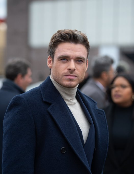 Happy Birthday, Prince Charming (in white tight trousers) and hot bodyguard, Richard Madden.