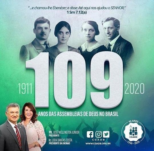 Assembleiana com Amor♥️❤ #Gratidão #109anos #assembleiadedeus #EuFaçoParte dessa história https://t.co/6WIxHvlNyE https://t.co/ZLbb18FiYq
