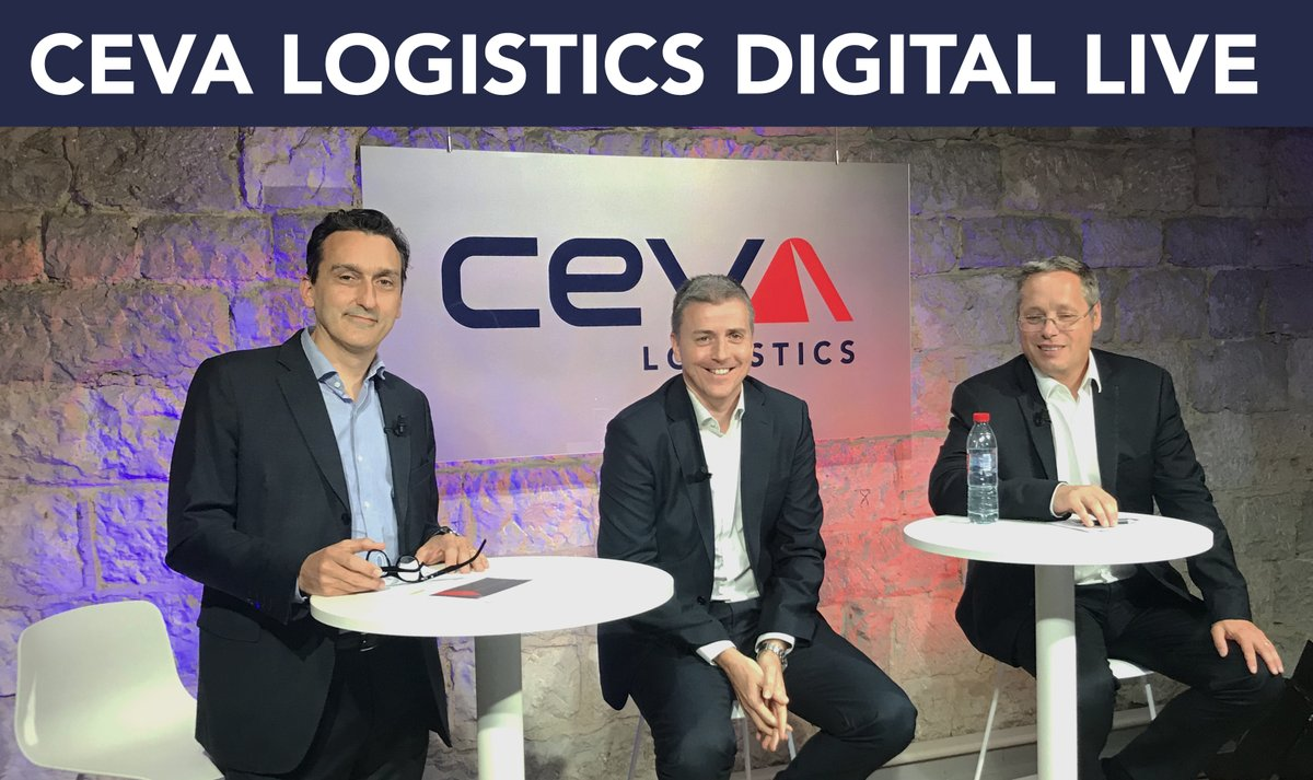 """CEVA Logistics Digital Live is starting now!  A warm welcome from our CEO, Mathieu Friedberg, to all the panelists and participants. We'll discuss """"How do we navigate through a post-COVID-19 world from a #supplychain standpoint?"""" #CEVADigitalLife #postCOVID19 https://t.co/yvMhFXxpHA"""