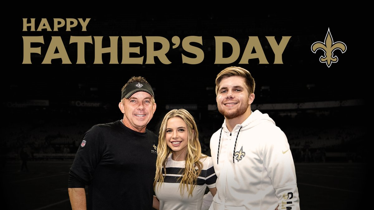 Happy Fathers Day from the #Saints! 🖤💛