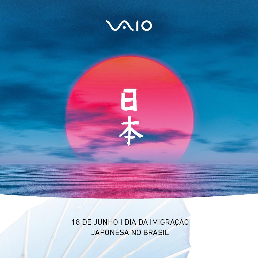 Comemora-se hoje os 112 anos da Imigração Japonesa no Brasil. Celebramos o elo fraterno de amizade e respeito próximo neste dia especial, quando o povo fabuloso com conhecimento milenar chegou oficialmente ao país.  #VAIO #ImigraçãoJaponesa #Brasil #Japão https://t.co/4b5MyNyWRd