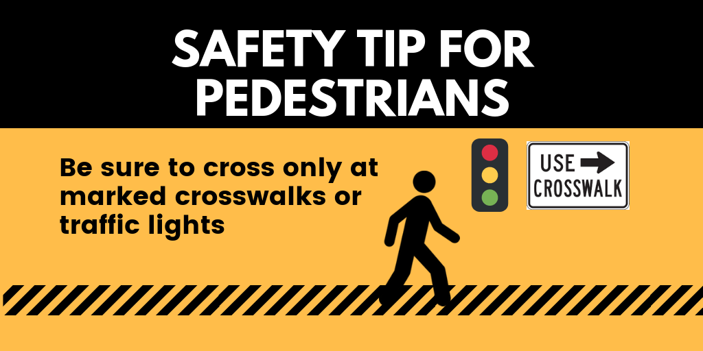 Summer is almost here and more of us will be enjoying the outdoors. Pedestrians, make sure all traffic has come to a complete stop before crossing, keep distractions to a minimum and follow #PhysicalDistancing guidelines. #StayAlert #RoadSafety @ONtransport https://t.co/LNJhRgkXn9
