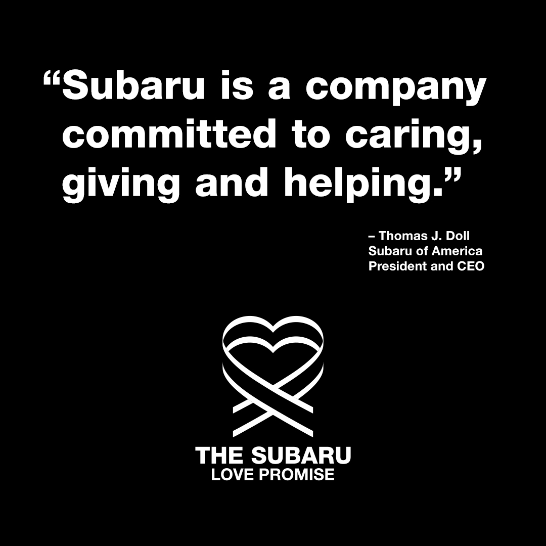 Subaru of America, Inc. stands with a nation rising to fight social injustice over the senseless deaths of George Floyd, Ahmaud Arbery, Breonna Taylor, Rayshard Brooks along with untold other Black Americans. We Believe Black Lives Matter. We have a responsibility to take action. https://t.co/4DhtcQSm7Y