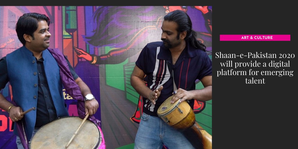 """Director of the event Huma Nassr shares they will """"work with the real musicians of Pakistan who may not be able to come forward otherwise.""""  More: https://t.co/vrtrZQ8BpE  #ShaanePakistan #Music #EmergingTalent https://t.co/R2MxV2rr5m"""