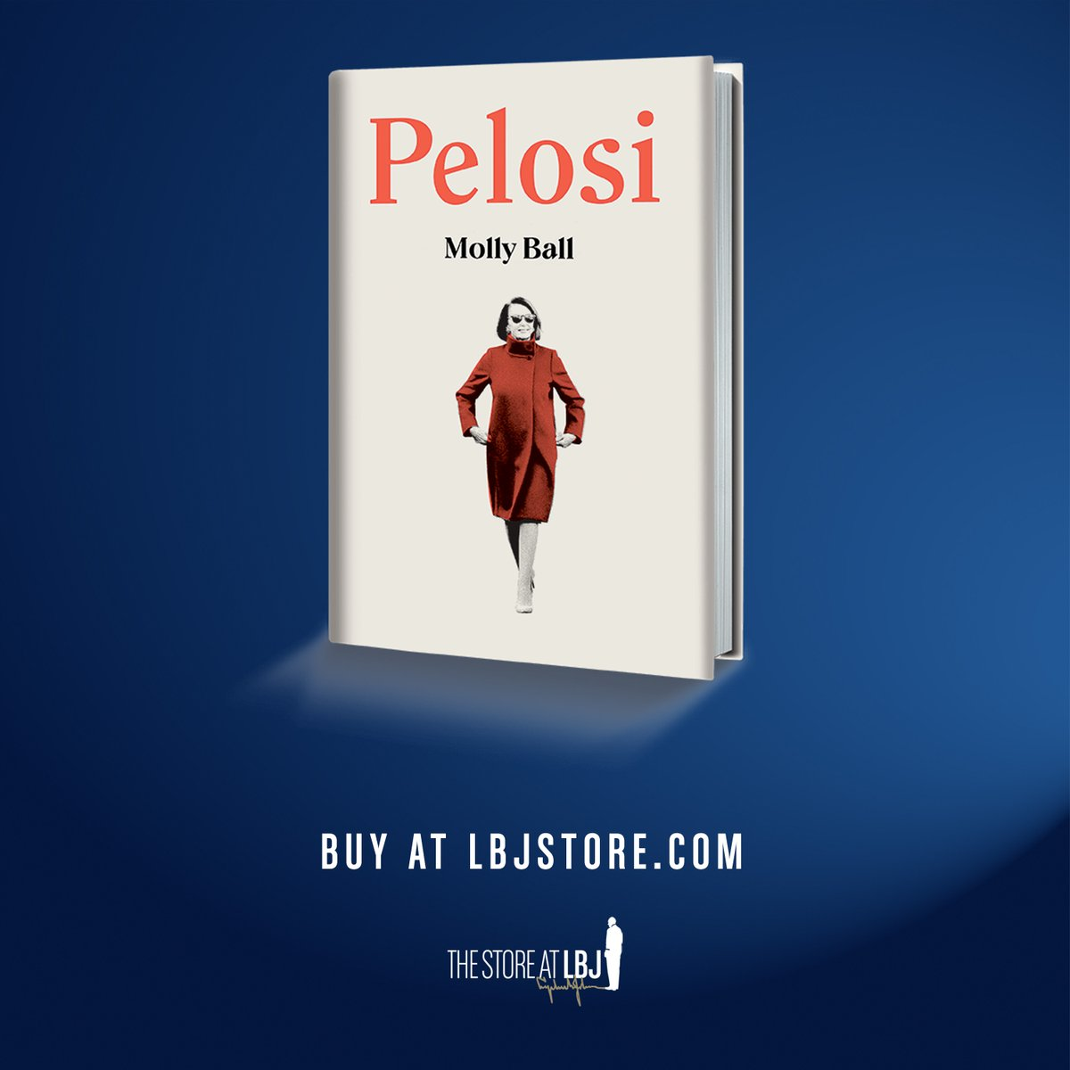 "📖 Pick up a signed copy of @mollyesque's ""Pelosi"" in the #LBJstore!  As @Kaibird123 said: ""This sparkling new take on Pelosi makes us understand how this 'San Francisco liberal'...has become America's most consequential legislator since the days of LBJ.""  https://t.co/ImP9pviGqj https://t.co/Sq4VQpKZII"