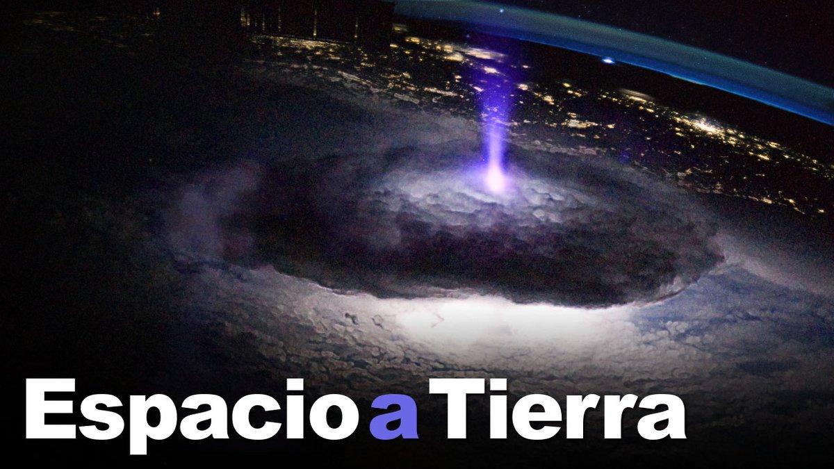 Una nueva investigación en la estación explora los relámpagos de la atmósfera superior. @Astro_Doug y @AstroBehnken se acostumbran a la vida en el laboratorio en órbita. #EspacioATierra.