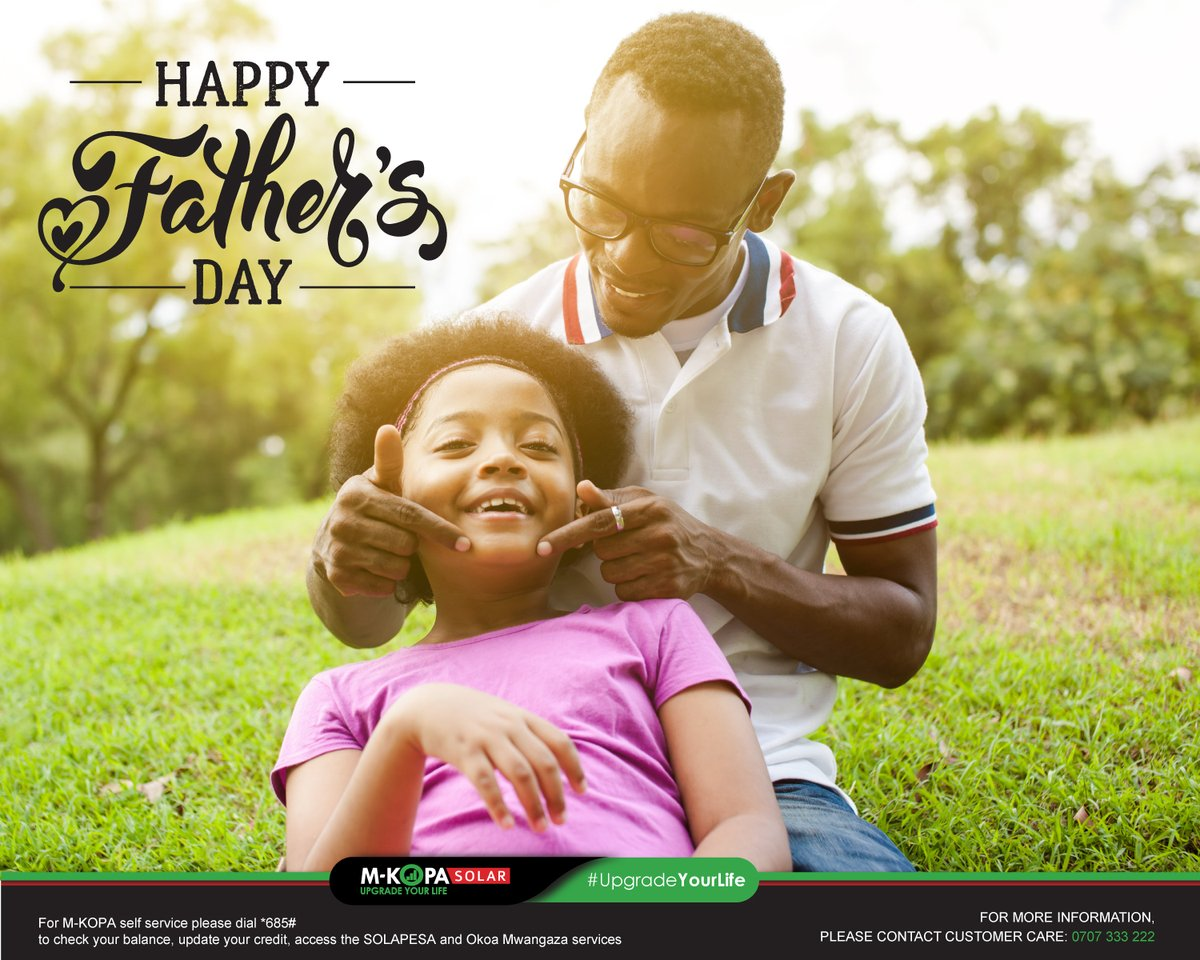 A heart full of love is one of the joys of being a Father.  As we celebrate fatherhood today, we wish all father's a #HappyFathersDay https://t.co/5f8Q4e0sTO