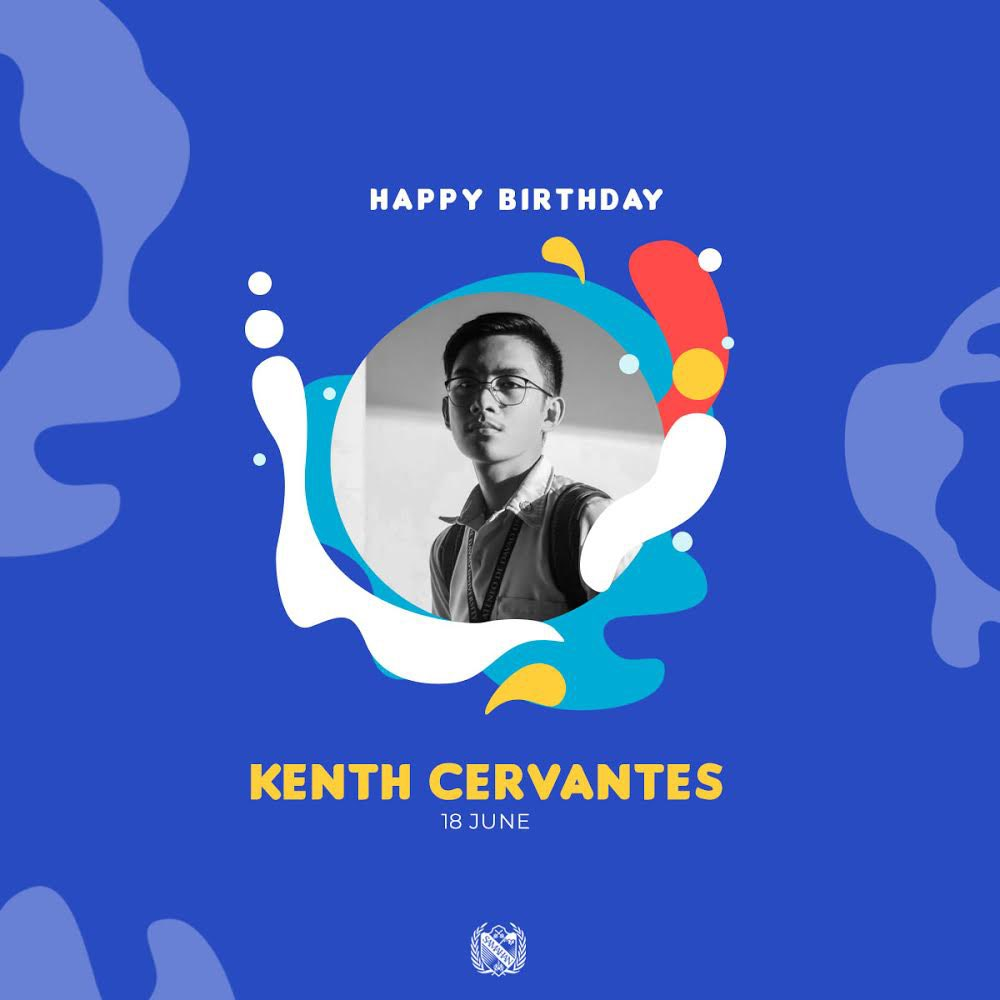 Happy Birthday to our SCT Director, Kenth Cervantes! We wish you a blessed year ahead! 🎉