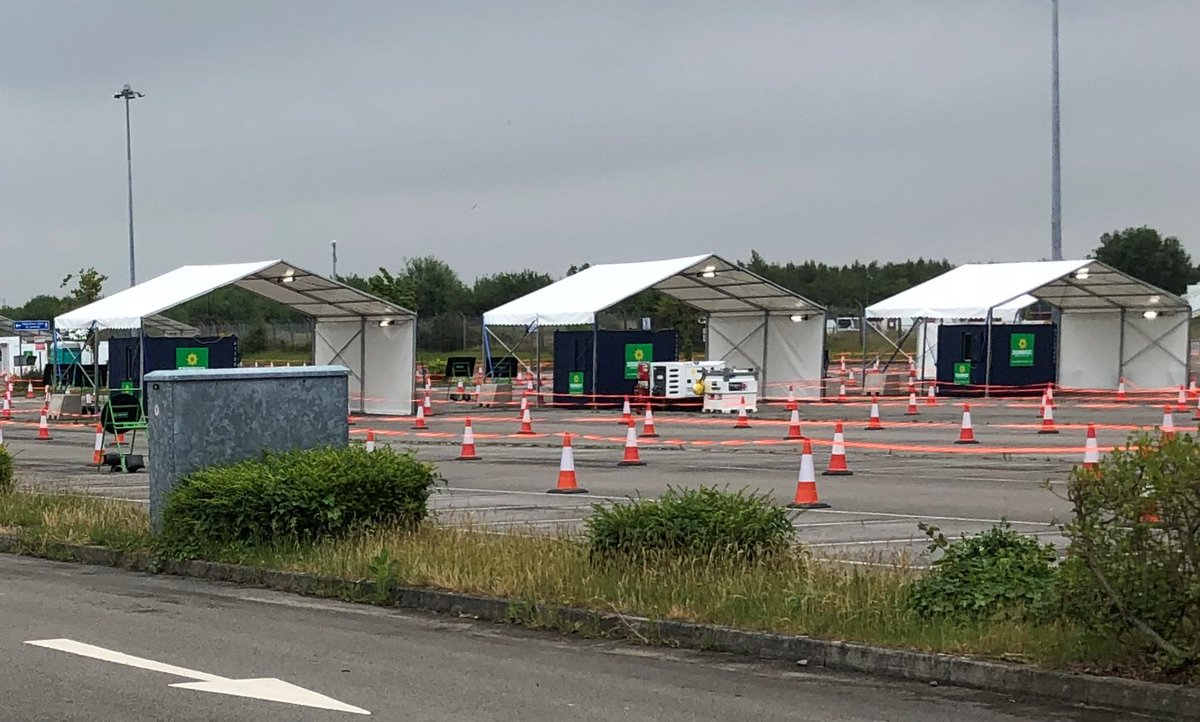 Drive-thru coronavirus testing facility has opened in one of our Long Stay Car Parks. We're pleased to help out and make this space available to the NHS for this important testing facility. Anyone with coronavirus symptoms should book a test at https://t.co/VvQlDVt4CP or call 119 https://t.co/YFLx6l8l68