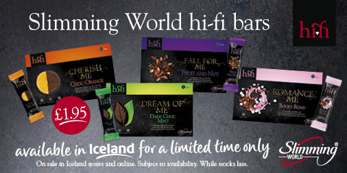 High five for Hi-fi Bars! ✋  Two new flavours of the @SlimmingWorld Hi-fi bars have landed in-store and online. Get your hands on Mint and Fruit & Nut flavours now! 😍  #MySWFrozen https://t.co/JLtngenomX https://t.co/pU51ujBDZT