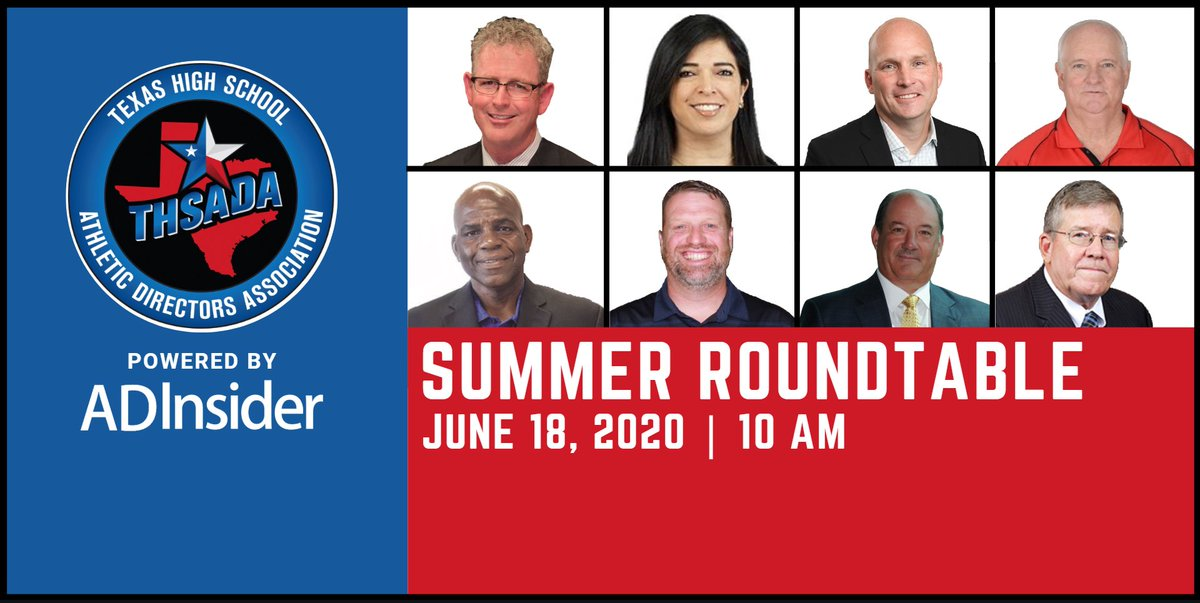 We are LIVE📹 Tune into the THSADA Summer Roundtable now! bit.ly/2ByYqS9 #THSADAroundtable