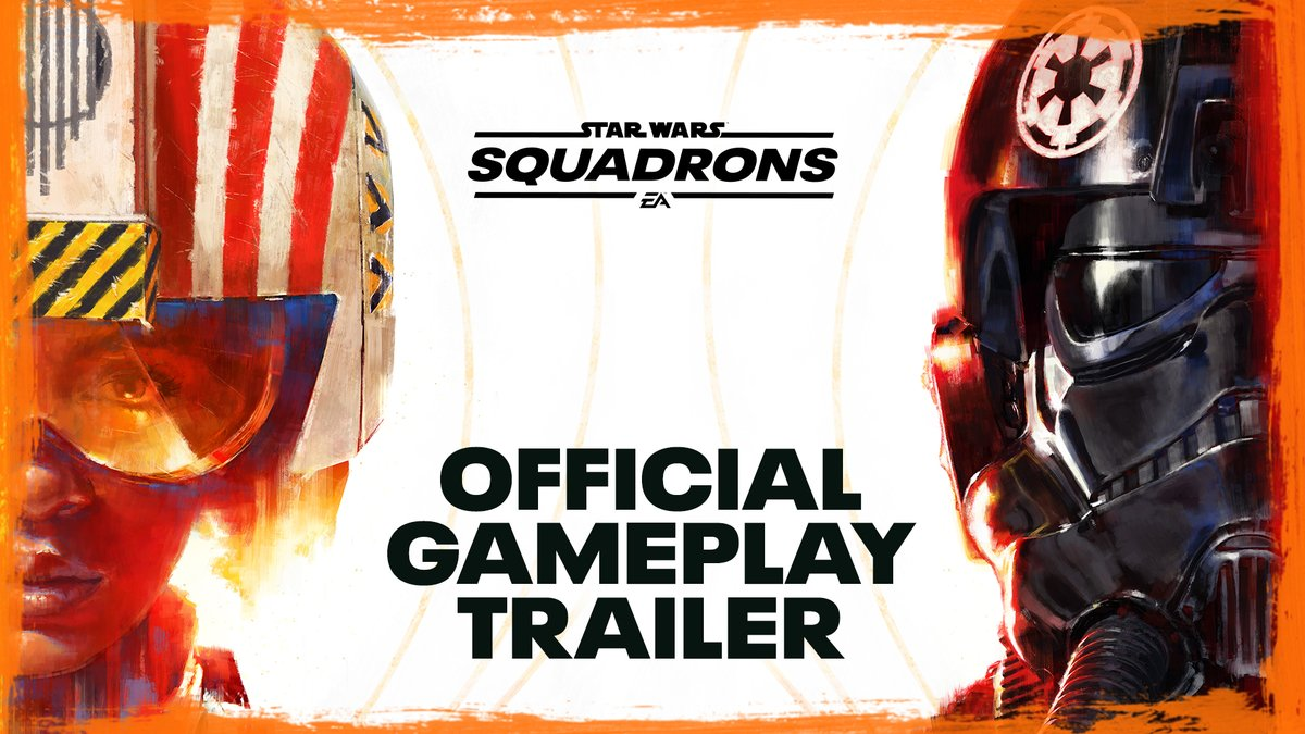 Learn more about the definitive Star Wars pilot experience in our #StarWarsSquadrons gameplay trailer!