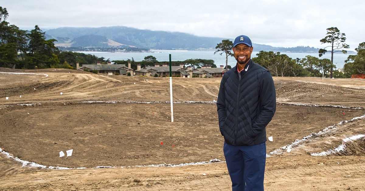 """""""Pebble Beach is such an iconic golf destination, we want guests to feel the entirety of that spirit when they play this course,"""" @TigerWoods said of the reimagined short course at Pebble Beach. news.tigerwoods.com/pebble-beach-c…"""