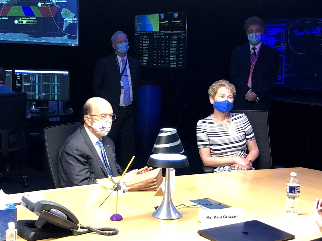 Today, I had the pleasure of meeting with Secretary of Commerce, @SecretaryRoss, and Analytical Graphics Inc. (AGI) in Exton to discuss the future of innovative orbital tracking in 🛰️ space. We are so proud of the work they are doing and are excited to continue supporting AGI! https://t.co/9tjM5iXTPM