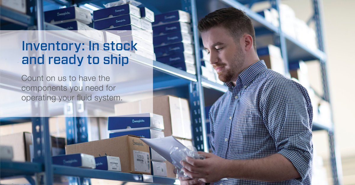 Our inventory is local, in stock and ready to ship. When you need components critical to operating your fluid system, waiting is not an option. Let us know how we can help: https://t.co/lkKwWnUMJ0 https://t.co/xqEN7pPtPF