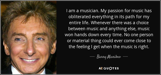 Happy 77th Birthday to Barry Manilow [Barry Alan Pincus], who was born in New York City June 17, 1943.